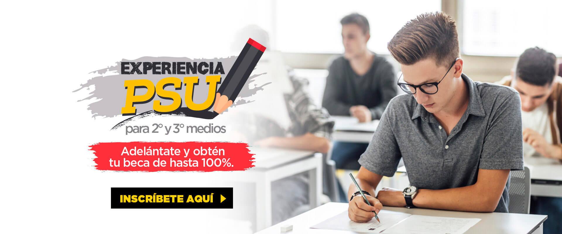 Exoeriencia PSU