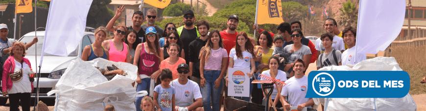¡En PDV colaboramos con las playas limpias de Chile!