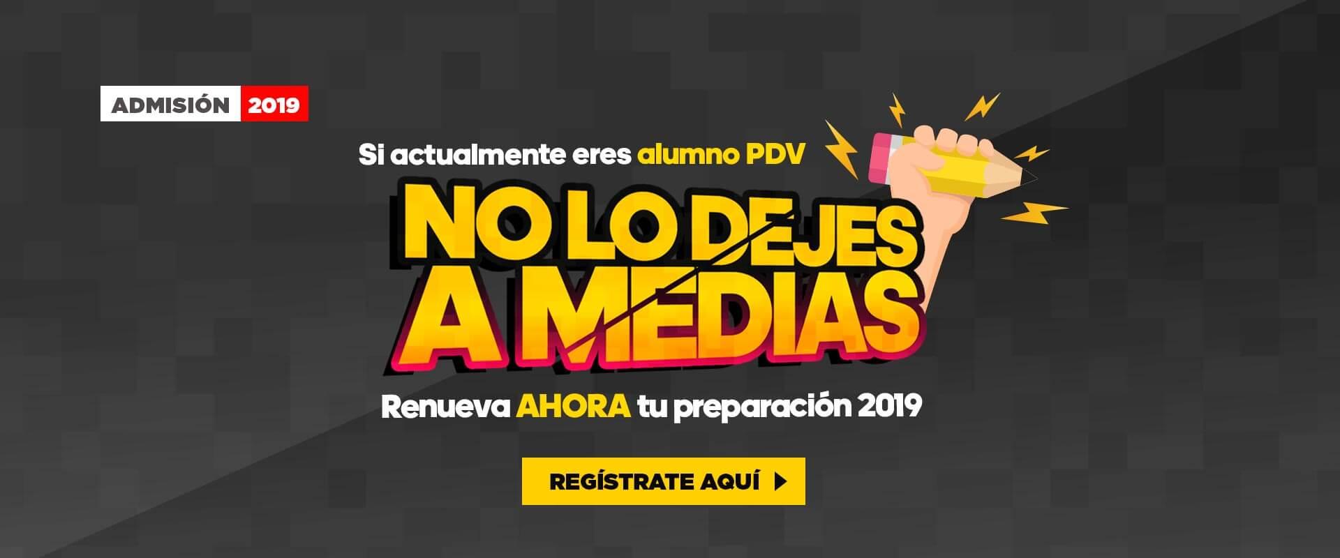 Renueva tu preparación con Preuniversitario Pedro de Valdivia