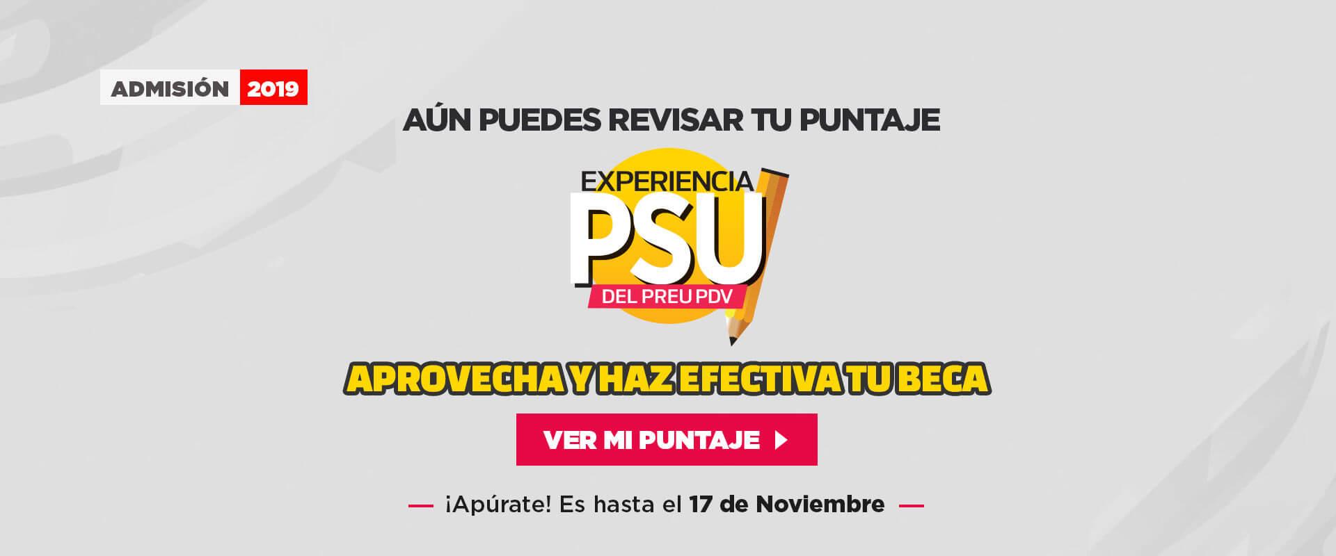Experiencia PSU -Preuniversitario Pedro de Valdivia