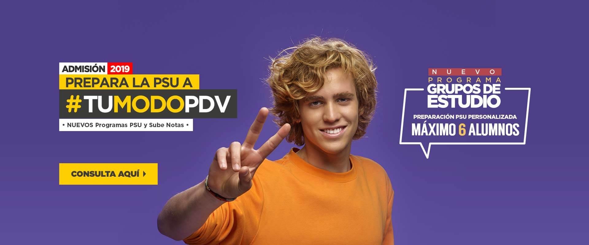 Grupos de Estudio - Preuniversitario Pedro de Valdivia
