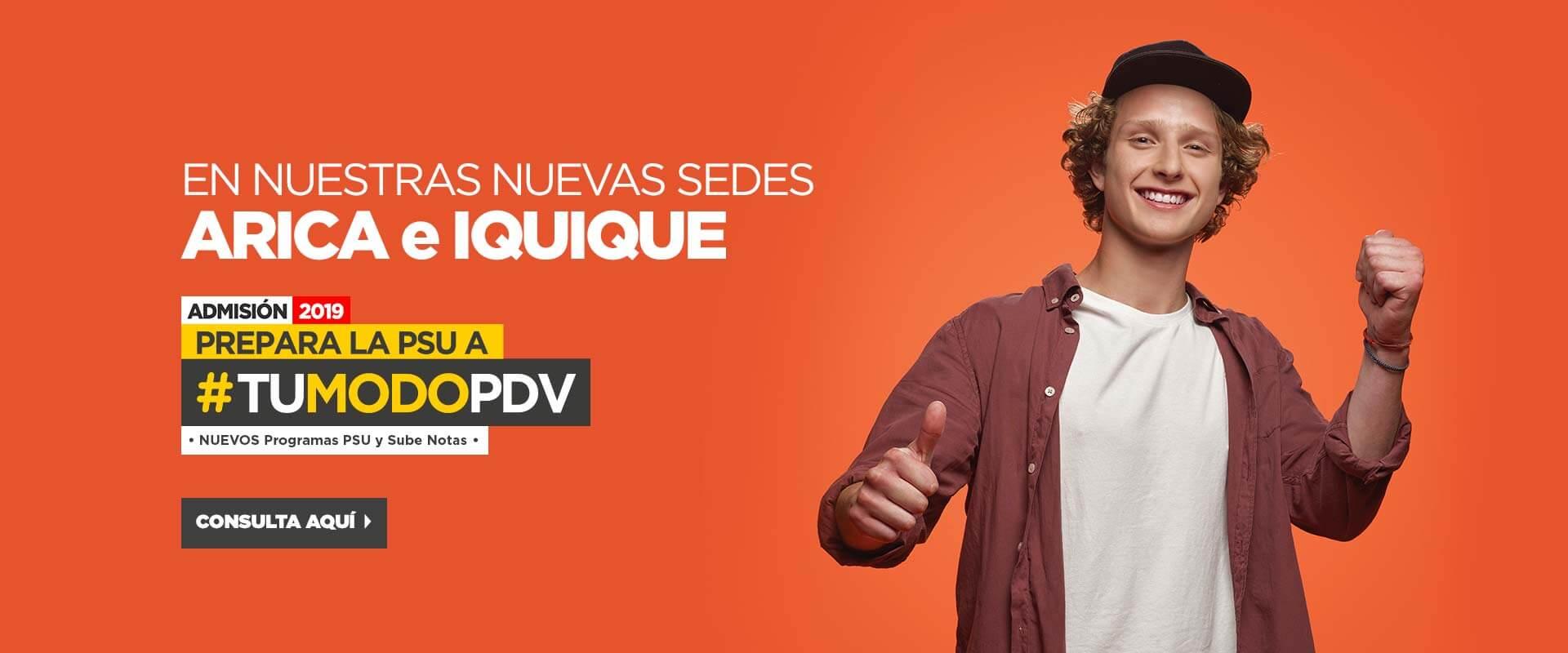 Nuevas Sedes - Preuniversitario Pedro de Valdivia