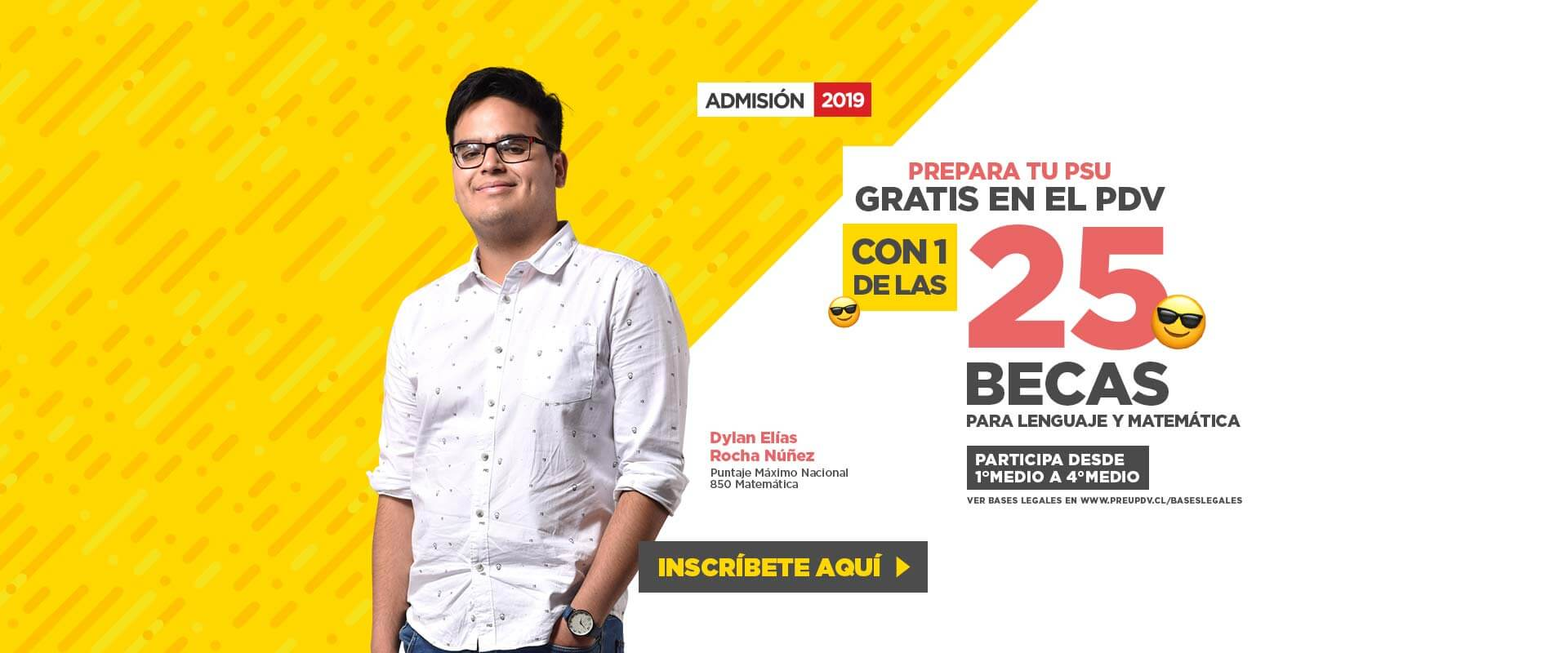 Becas Académicas - Preuniversitario Pedro de Valdivia