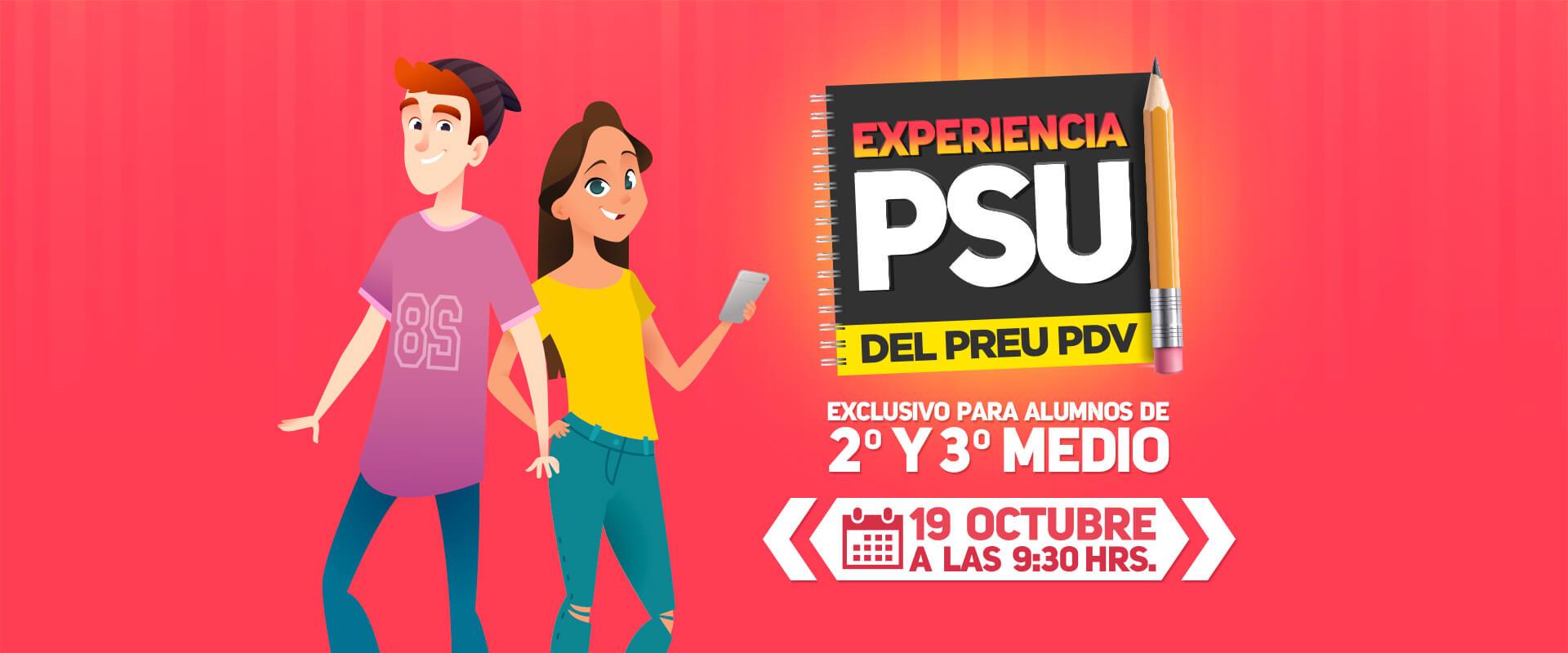 Experiencia PSU