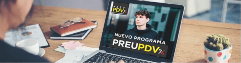 Nuevo Programa Preu PDVx