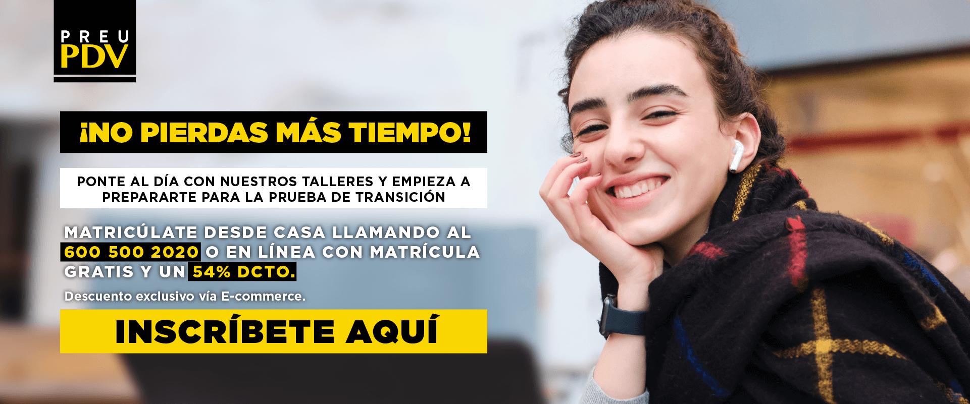 Preu PDV - Admisión Prueba Transición - Venta Remota
